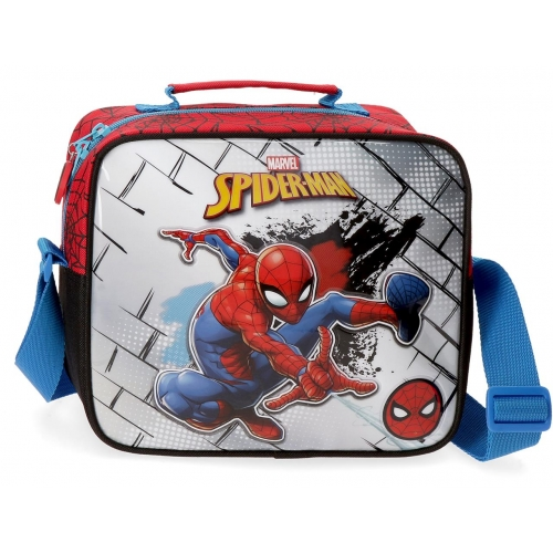 Neceser Adaptable Spiderman Red con Bandolera
