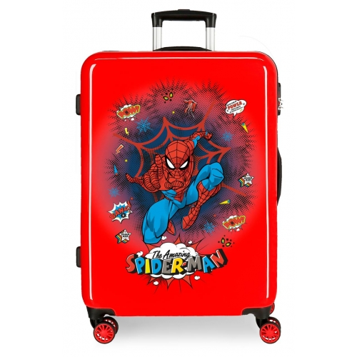 Maleta Mediana Spiderman Pop rígida 68cm