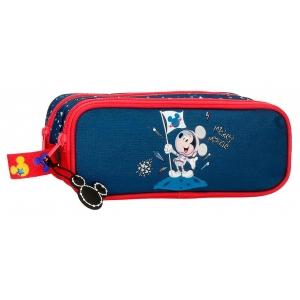 Estuche Mickey on the Moon Dos compartimentos