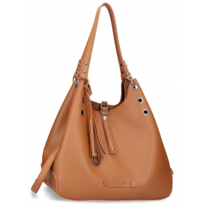 Bolso Hobo Pepe Jeans Angelica Marrón