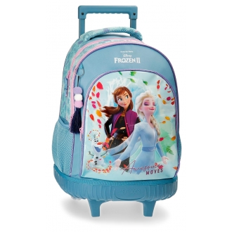 Mochila Frozen con ruedas Awesome Moves 2R.