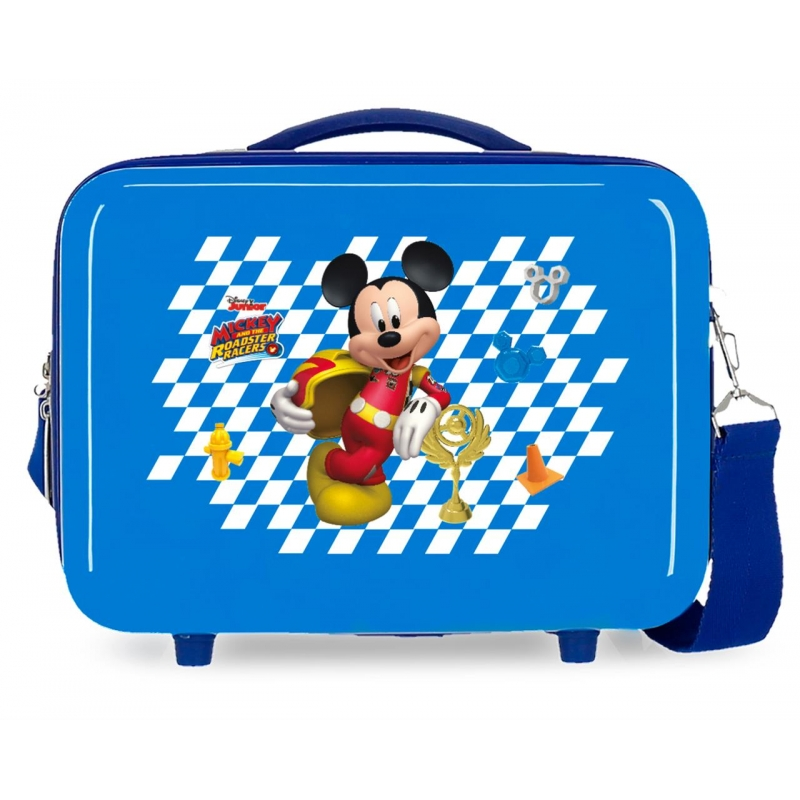 Neceser ABS Adaptable Mickey Good Mood Azul