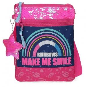 Bandolera Plana Movom Glitter Rainbow