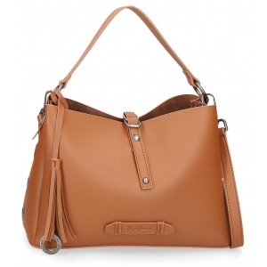 Bolso Pepe Jeans Angelica Marrón