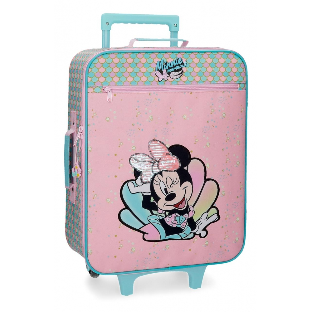 Maleta de cabina Minnie Mermaid 50cm