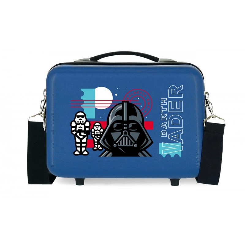 Neceser ABS Star Wars Galactic Empire Adaptable Azul