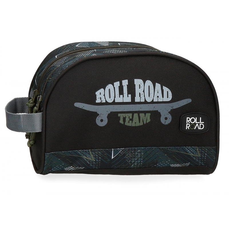 Neceser doble compartimento adaptable Roll Road Team