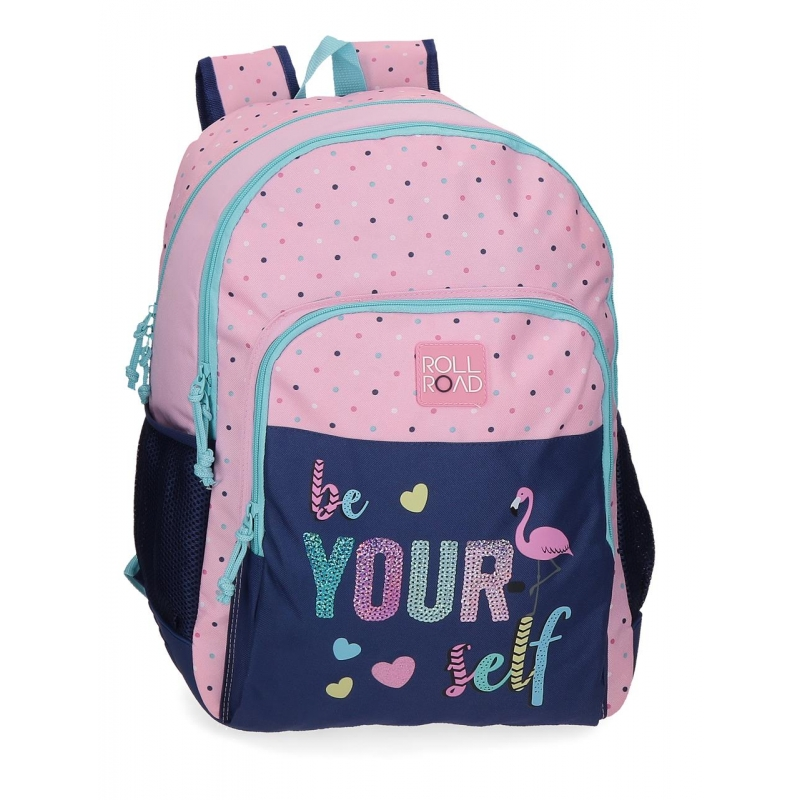 Mochila Doble Compartimento Roll Road Be yourself