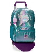Mochila Portaordenador Enso Be a Mermaid con Carro