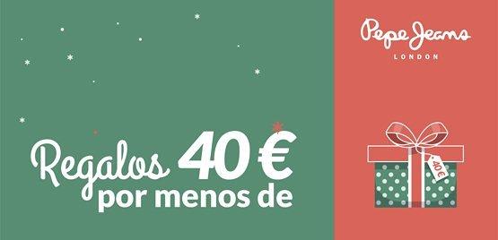 Regalos navidad por menos de 40€